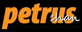 Petrus Chan - Web Designer/Developer